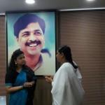 BK Neha with Smt. Poonam Mahajan ji